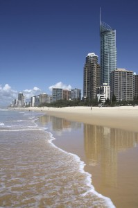 World famous Gold Coast beaches