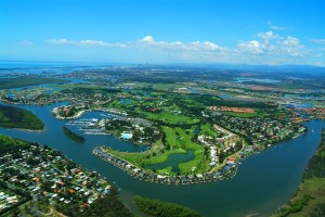 Hope Island and Sanctuary Cove -  a wonderland of waterways and golf courses.